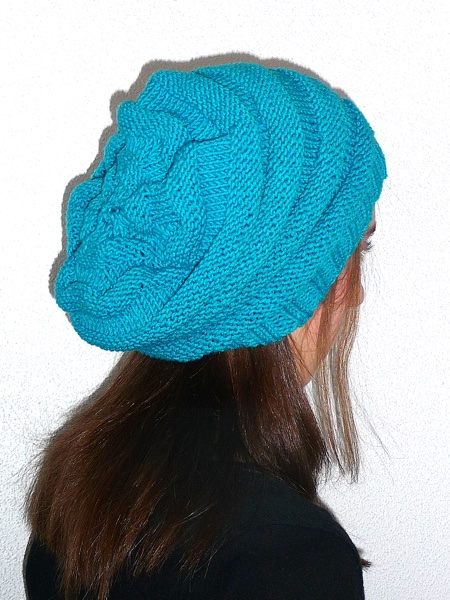 Beehive Slouch Hat and Scarf Download